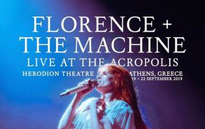 Florence & The Machine: Sold out και η δεύτερη συναυλία στο Ηρώδειο