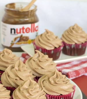Cup cakes nutella!