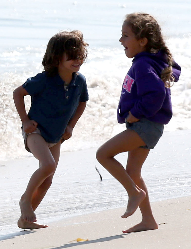Exclusive Jennifer Lopez & Family Spend The Day In Malibu ***NO