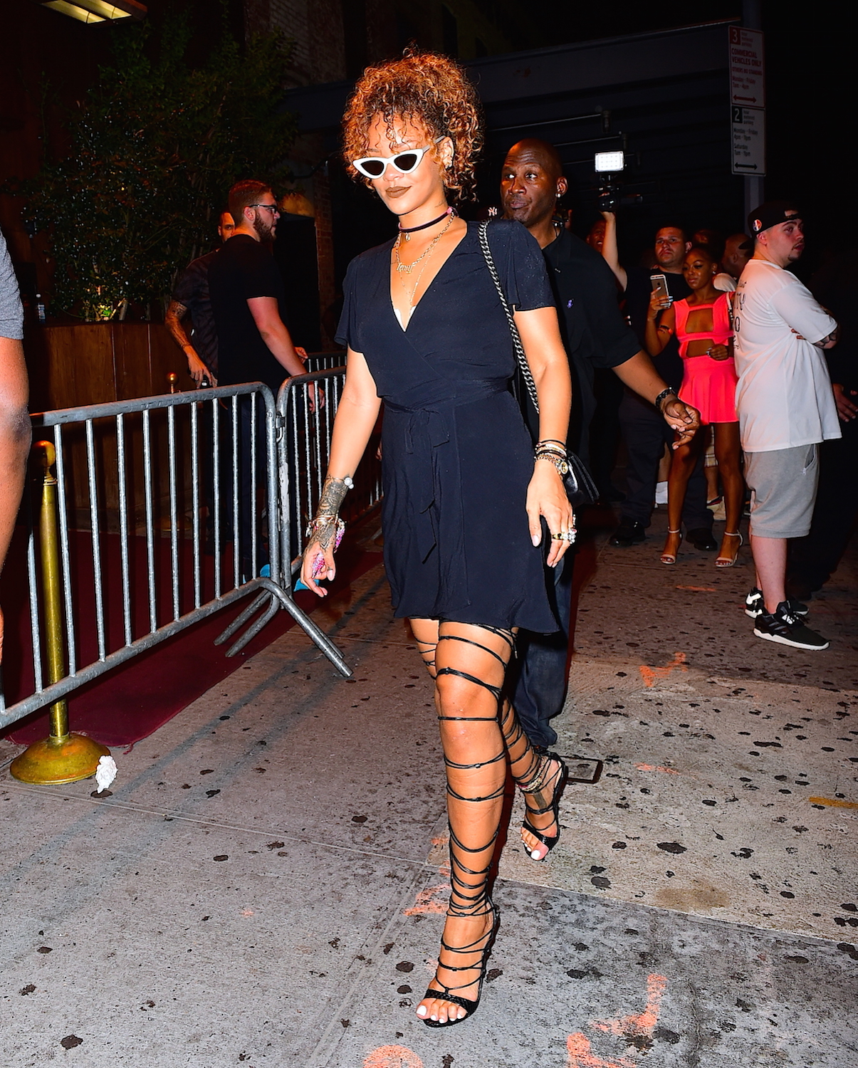 Rihanna and Travis Scott Dine Together at the Spotted Pig in NYC after His Concert